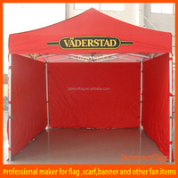 Custom logo printed on 3x6m tent with aluminum frame and 4 full walls and carry bag JMW-160423