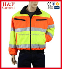 Safety Reflective Jacket ANSI/ISEA Class 2 Hi Visibility Reversible