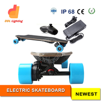Electric Skateboard with Lithium Ion Battery Can be Used as Traditional Longboard Chinese Manufacturer Supply
