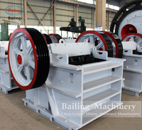 Concrete recycling equipment jaw crusher with CE certicficate with good price