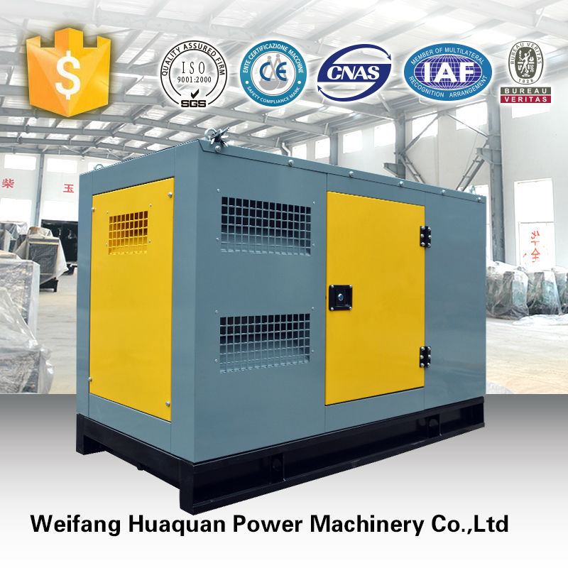 magnetic and electric diesel generator with silent canopy and free parts for hot sale from china supplier