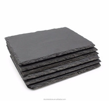 Natural cheap slate stone food serving plates