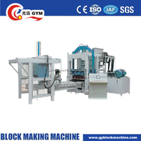 factory direct high output automatic cement brick making machine with price