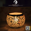 high quality mosaic candle holder,candle holders