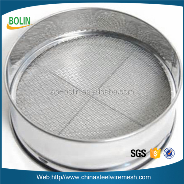 Best price sieve analysis equipment filter screen 0.5mm stainless steel sand sieve mesh laboratory test sieve
