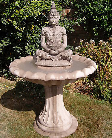 2016 High Quality Of Hand Carved 4 Tier Laughing Buddha Water Fountain