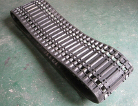 snowmobile rubber track380*50*58 small rubber track with factory price,small snowmobile rubber track for snow vehicle