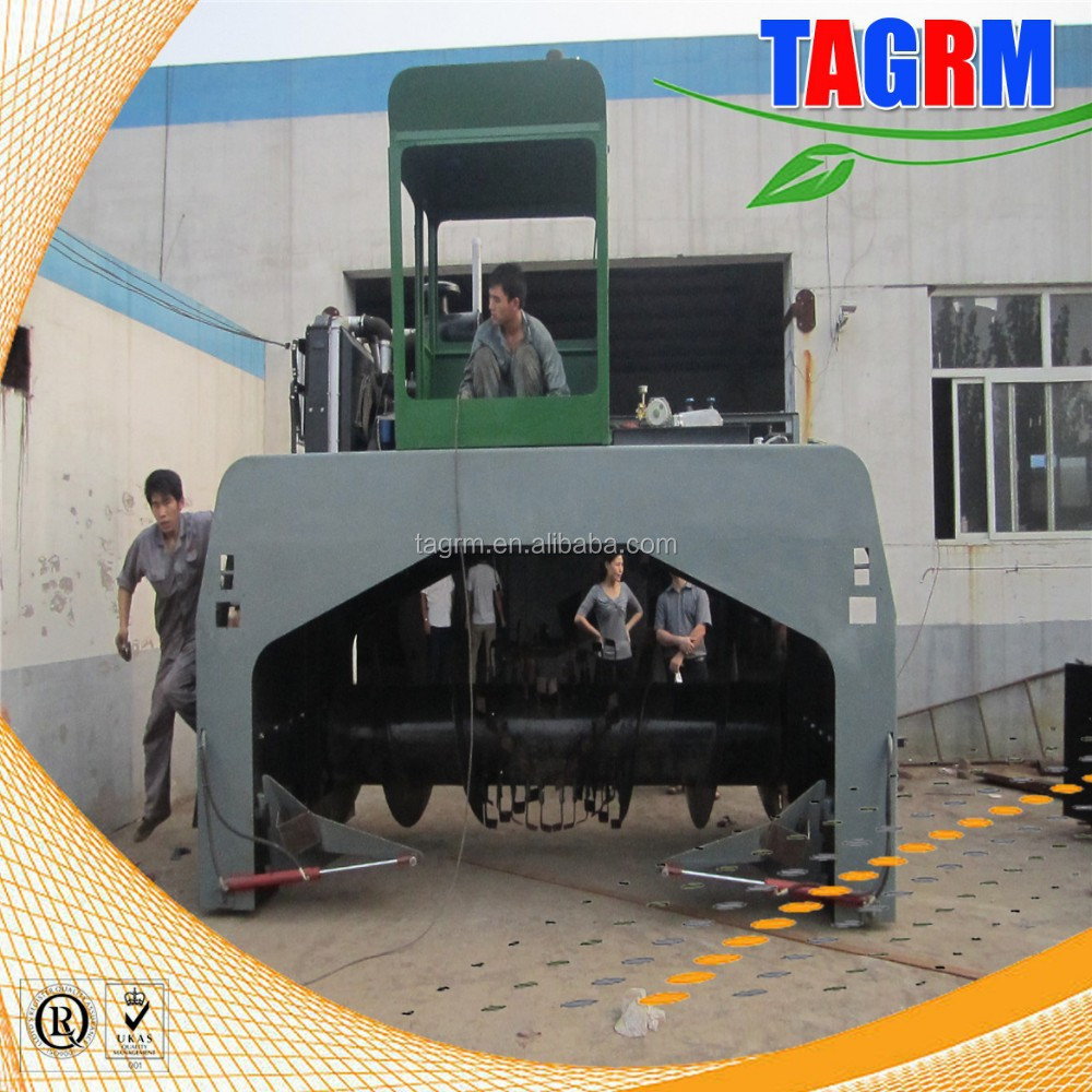 High efficiency garden pruning waste compost processing machine/vessel composting equipment