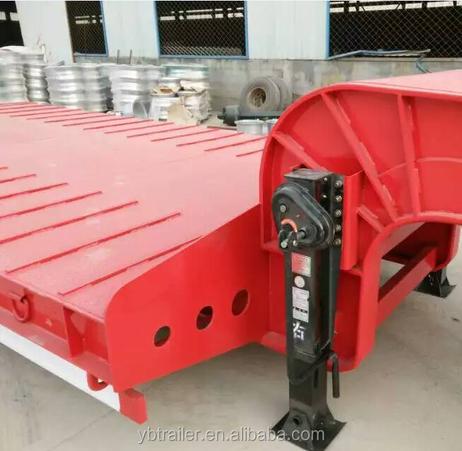 cheap car transportation low bed semi trailer and truck