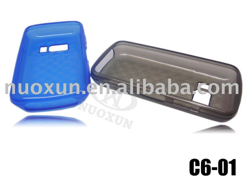 Mobile Phone TPU case for Nokia C6-01