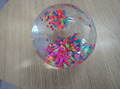 rainbow bar bouncing ball/ colourful particle ball