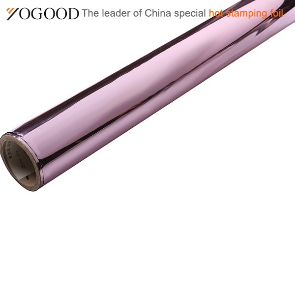 customized quality solid color hot stamping foil pet film rolls
