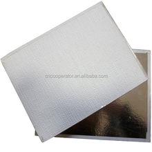 suspended gypsum board ceiling, pvc coated, foil back 60x60cm, thickness:7mm,8mm