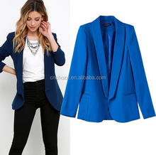 Z57908B Ladies Polyester blazers women suits fancy suits for women