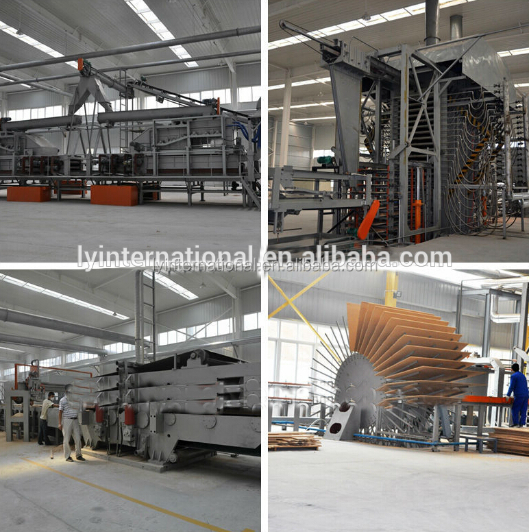Superior quality and compact technology particle board production line/OSB making machine/melamine paper laminated /particle
