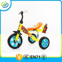 Baby tricycle toddlers with plastic material attachment