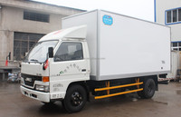 JMC refrigerated truck with insulated truck body and Aluminum alloy ventilation slot inside
