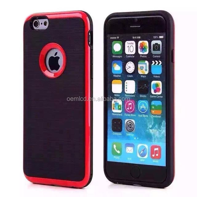 NEW Colorful metal PC+TPU phone case For samsung galaxy s5 case,2016 Bumper Clear Slim Case