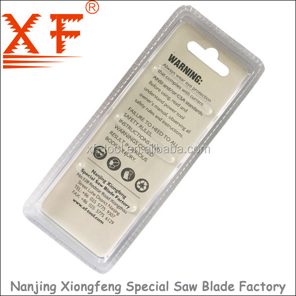 Nanjing Xiongfeng B&D shank jig saw blade tool set for clean cut: XF-BD101D 3PK