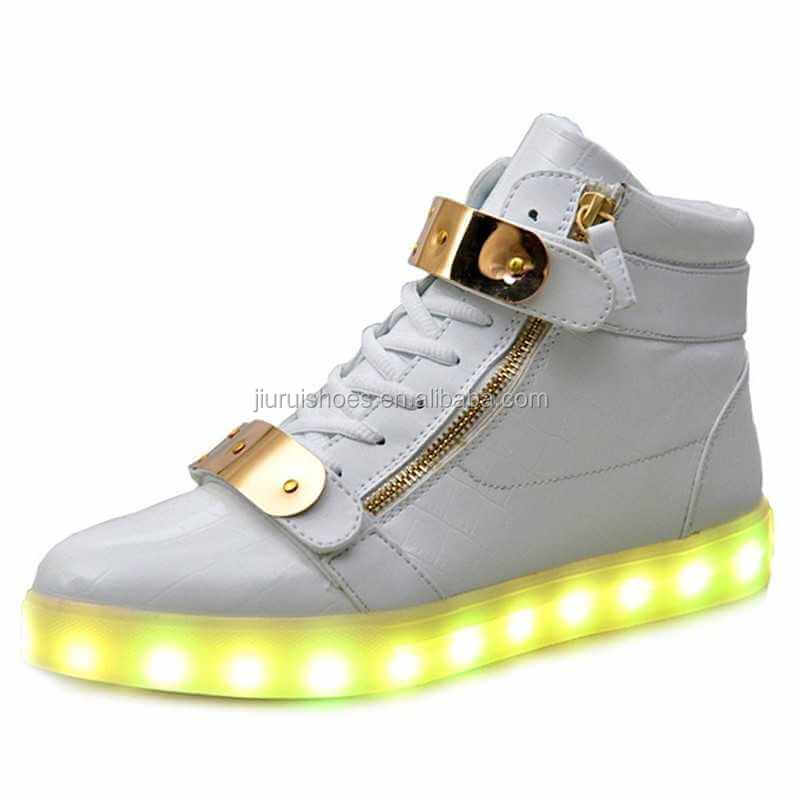 2017 new style unisex simulation zapatillas led shoes