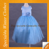 Fashion design party long dress 1-6 years old baby girl dress HJ-554