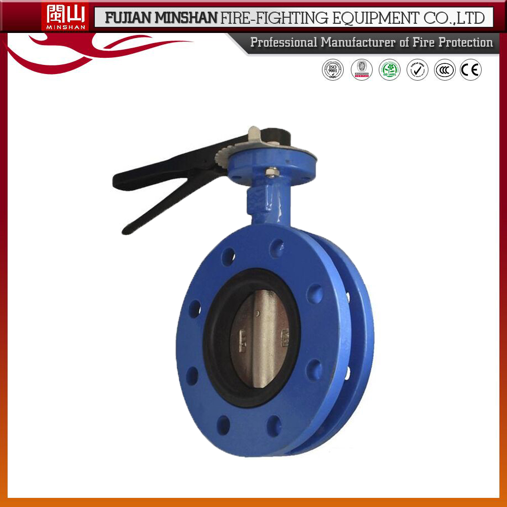 Ductile iron butterfly valve motorized butterfly valve for Motor operated butterfly valve