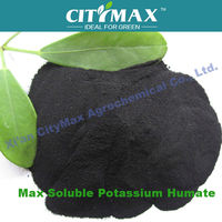 100% Natural Green water soluble fertilizer powder humic acid of potassium humate