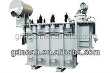 SZ11-6300 35KV grade 6300KVA OLTC power transformer