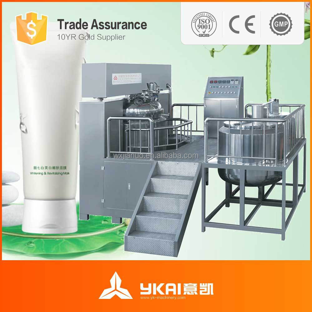 1000L Toothpaste Industrial Production Line Chemical Paste Mixer