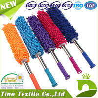 Microfiber Duster Lint Free Reusable Chenille Feather Duster