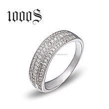 925 Italian Silver Ring Ladies Finger Sterling Silver Wedding Engagement Wholesale Jewelry
