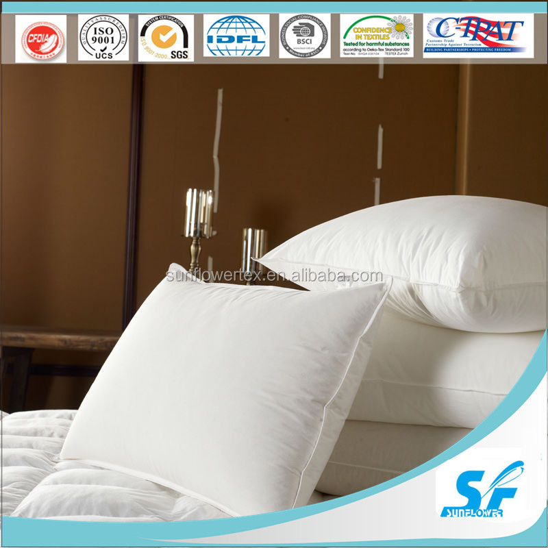 high quality low price ball fiber filled polyester pillow