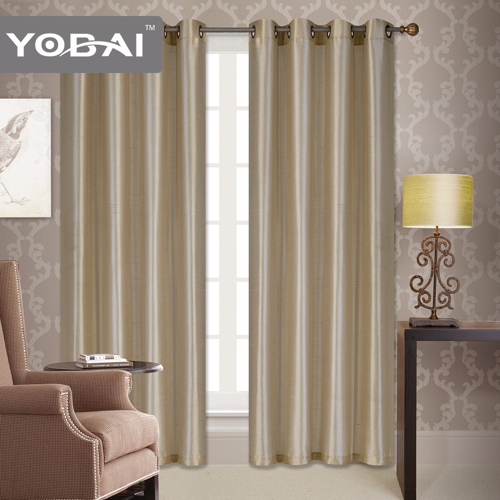 Premium 100% Polyester Security Curtains For Windows