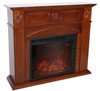 modern decorative indoor used electric fireplace mantel