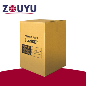 ZOUYU 1260ST ceramic insulation blanket ceramic fiber blanket
