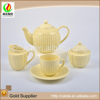 Factory wholesale Chinese multifunctional LD14094 purple tea set with high quality