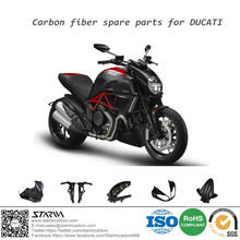 Motorcycle Carbon Fiber front fender body spare parts for Ducati all series