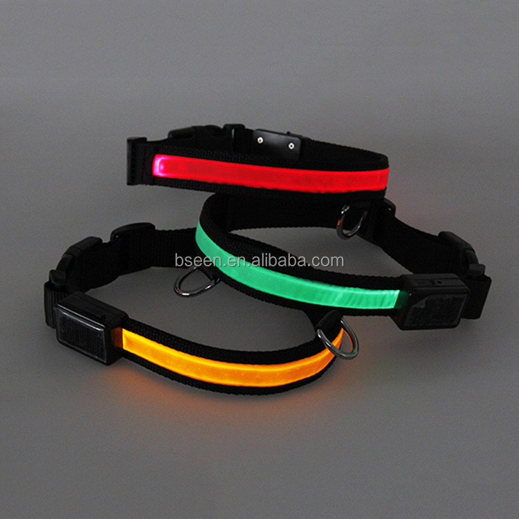 Pet Led Dog Collar Trending 2017 Sports Equipment Accessories Popular Pet Flashing Colorful LED Necklace Dog Collar