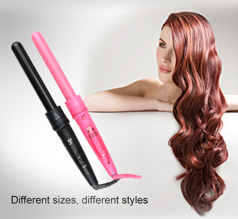 Hot 5P Professional automatic salon magic different types of hair curler curling iron private label 2017 hair curlers rollers
