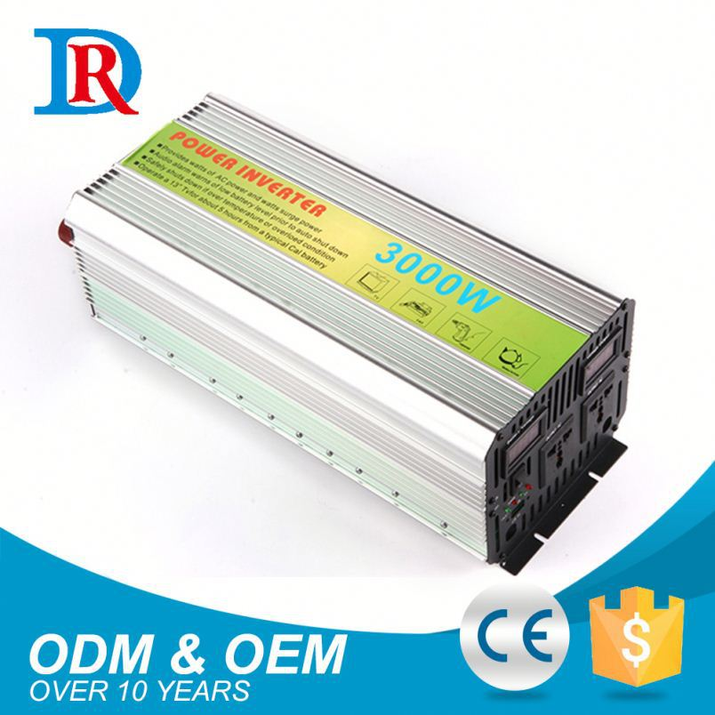Cheap Prices 24V 220V 3000W Modified Sine Wave Micro Control Power Inverter