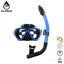 Large Capacity Wide Field Of Vision Snorkeling Masks set With Go pro camera Mount