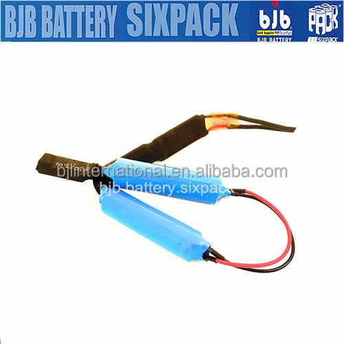 li-ion 18650 lithium battery 3.7V 2200mAh li nmc from Shenzhen BJB.Sixpack Factory