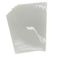 pressure sensitive mylar sticker labels clear acrylic pvc film