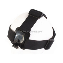 SJ4000 accessories Elastic Adjustable Head Strap with simple anti-slide glue, For Go Pro HeroS 4 3+/3/2/1 ADK-GP24