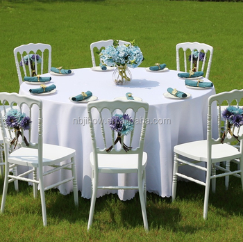 factory supply strong plastic napoleon chair for wedding/banquet hall