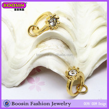 Custom Gold Jewelry Ring Floating Memory Alloy Ring Charm Jewelry Sale # A2