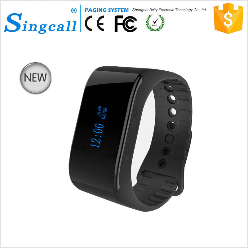 Singcall New Model Watch Pager Restaurant Wireless Calling System