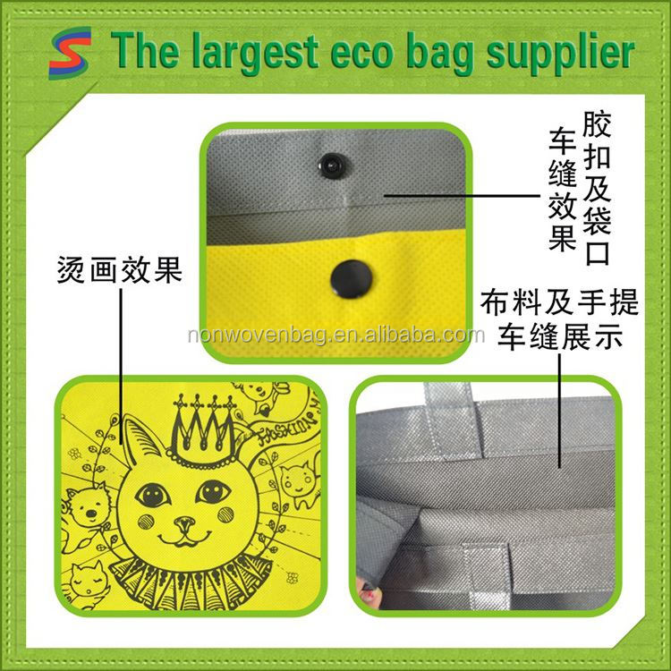 Photo Nonwoven Bags Rept Bag Recyclable Non Woven Fabric Bag