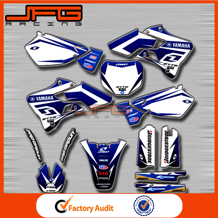 <strong>mini</strong> bike stickers/Dirt Bike stickers/<strong>Motorbike</strong>/motocross stickers for yamaha Motorcycle YZ YZ125 YZ250 96-01