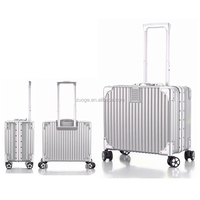 17 Inch Aluminum Luggage ABS Luggage